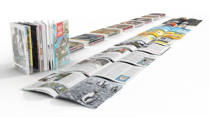 Печать журналов и книг