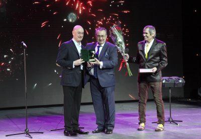 Награждение Лауреватов Премии Овация