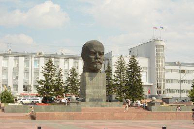 Центральная площадь города Улан-Удэ.