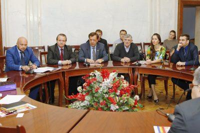 Заседание союза Журналистов
