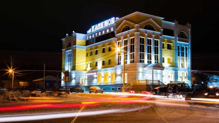 Вокзал города Касимов