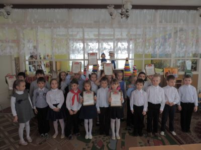 Ученики МДОУ «Детский сад общеразвивающего вида № 24 «Радуга»