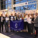 Награждение представителей объеденненой экспозиции изобретателей и промышленников Российской Федерации
