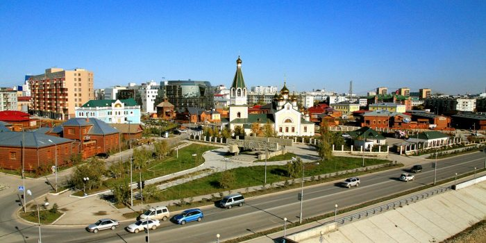 Панорама Якутск