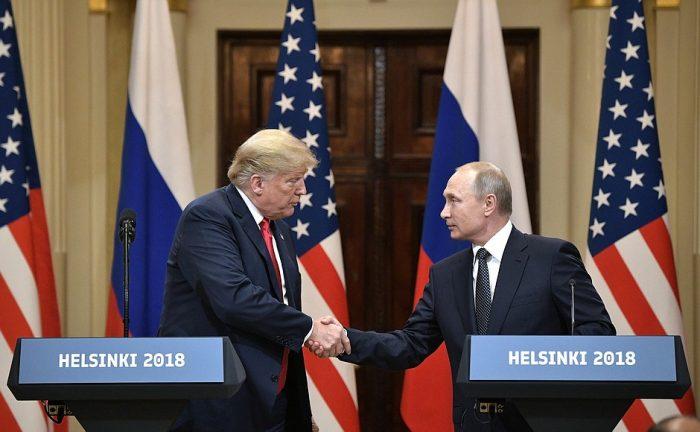Встреча В.В. Путина И Трампа