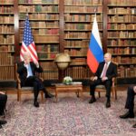 Встреча Путина и Байдена 2021